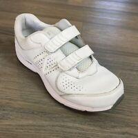 Men's New Balance 411 Walking Shoes Sneakers Size 10.5 4E White Diabetic W11