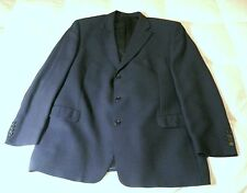PIERRE CARDIN DESIGNER BLUE PATTERN MENS JACKET GB 49 REG