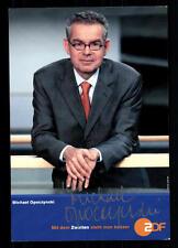 Michael Opoczynski ZDF Autogrammkarte Original Signiert ## BC 26055