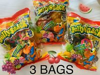 Tik Tok Jelly Snack Candy Fruit Jelly's Famous 🔥- NEW 20 Piece Bag-3 Bags!