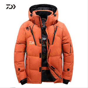 Fishing Jacket Men's Velvet Fishing Clothes Thicken Thermal coat Fishing Shirt W