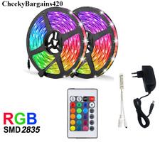 LED Strip Light RGB 5-20 Meter BRIGHT Waterproof Wifi Control Flexi SMD NEW