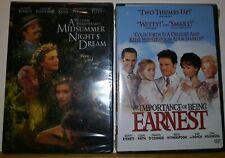 Rupert Everett lot 2 DVD:Importance of Being Earnest/A Midsummer Nights Dream
