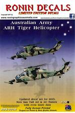 Ronin Decals 1/72 EUROCOPTER ARH TIGER Helicopter Royal Australian Army