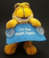 Garfield Window Suction Cup Plush On the Road Again Preferred Plush 7""