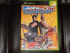 Brand New! American Chopper Microsoft Xbox 2004 Free Shipping Bikes Mods
