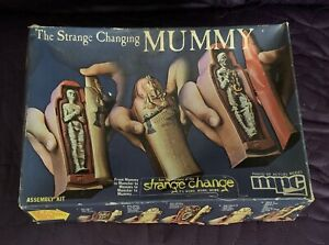 MPC  THE STRANGE CHANGING MUMMY  BUILT AND PAINTED WITH BOX  0902