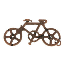 Casse-tête En Acier De Labyrinthe En Acier De Vélo De Vélo Jouet Décodé