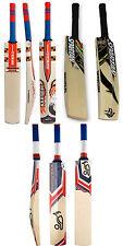 3 in 1 Pack KOOKABURRA BUBBLEII + GN KABOOM+ SPARTAN Cricket Bats +Free Nokd~Oil