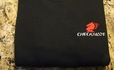Checkmate Knight Boat Logo Black w/Red + White Sz XL T-Shirt New