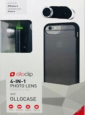 olloclip 4-IN-1 Photo Lens Set mit ollocase für iPhone 6, schwarz-silber