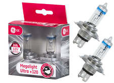 H4 P43t GE General Electric Megalight Ultra +120% mehr Licht Duo Box