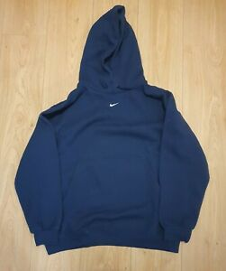 Nike Mini Swoosh Hoodie Navy