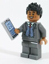 LEGO JURASSIC WORLD CEDRIC MASRANI MINIFIGURE BROTHER MADE OF GENUINE LEGO