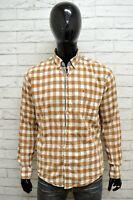Camicia Uomo Manica Lunga TOMMY HILFIGER Vintage Fit Taglia XL Maglia Shirt Man