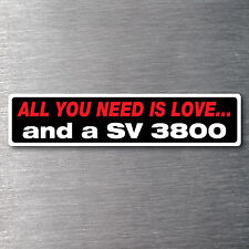 All you need is a SV 3800   premium 10 year vinyl water/fade proof commadore