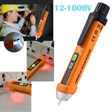 12-1000V Electric Non-Contact Voltage Tester Pen Volt Alert Detector Sensor Pen