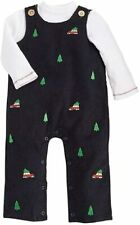 Mud Pie Baby Boys' Outfit Blue 3-6 Months Turtleneck Corduroy Overalls $44 832