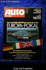 Auto Zeitung 6/73 Audi 80 Alfasud Fiat 124 Ford Taunus 1300 L Opel Ascona
