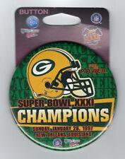 1997 Green Bay Packers Super Bowl XXXI Champions button SB 31 Desmond Howard MVP