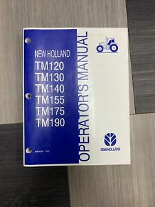 New Holland TM 120-190 Operator's Manual