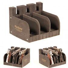 Hyskore Stack on Pistol Rack Storage Safe Pack 3 Stand Display Holder Organizer