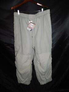 US Army Trousers Extreme Cold Weather L NWT Urban Gray Pants ECWCS Gen III NEW