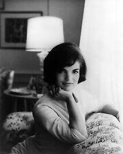 Portrait Jacqueline Kennedy Jackie JFK White House Couch 1961 New 8x10 Photo