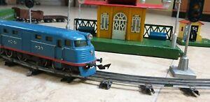 Train - USSR (CCCP) Russian Railway VTG- Tin Toy 'Pionerskaya *Moskabel SOVIET