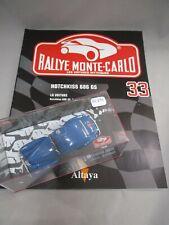 Ak691 1/43 altaya rallye monte carlo # 33 hotchkiss 686 gs 1949 tres bon etat
