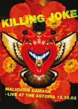 KILLING JOKE New Sealed 2019 LIVE 2003 LONDON CONCERT DVD