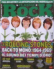 CLASSIC ROCK 47 2016 Rolling Stones ZZ Top King Diamond UK Subs Johnny Cash