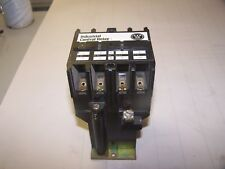 WESTINGHOUSE 600 VDC 4 POLE INDUSTRIAL CONTROL RELAY ARD4S