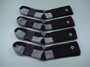 NWOT Women's USA Columbia Merino Wool Socks 4 Pair Size M Brown #719C