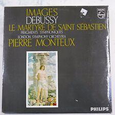 vinyl lp record PIERRE MONTEUX debussy images / martyre de saint sebastien