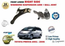 FOR TOYOTA PREVIA 2000-06 FRONT LOWER RIGHT SUSPENSION WISHBONE ARM + BALL JOINT