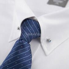 Ferma Cravatta Pin di Ottone Strass in Oro 65x6mm Camicia Uomo Ragazzo