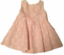 Unbranded 100% Cotton Spotted Girls' Dresses (0-24 Months)