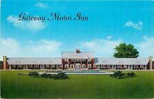 Seekonk Cape Cod Massachusetts~Gateway Motor Inn~1950s Postcard