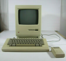 Vintage Apple Macintosh Plus Computer 2.5 Mb w/System Disc & Covers M0001A