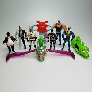 Vintage 1990's Kenner Batman Figure Lot Hasbro