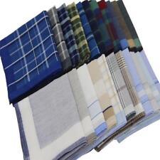 Men's Handkerchief Plaid Pocket Square 5 Pcs/Lot Cotton Soft Classic Accessories