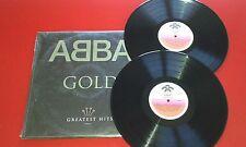 ABBA **Gold - Greatest Hits** RARE & ORIGINAL 1992 2 LP SET Venezuela ON RODVEN