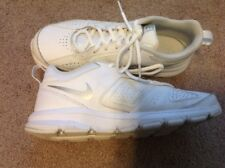 Women's Nike 2014 All White Uniform Tennis Shoes Sneakers 8, Perfect!