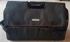 Entrepreneur tote tool caddy sac avec heavy duty base carry case holdall new