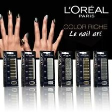 STICKERS COLORSHOW ONGLES COLOR RICHE LE NAIL ART TATTOO L'OREAL - MAYBELLINE