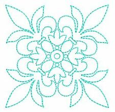 19 Exotic Quilt Blocks #2 Machine Embroidery Designs 4x4 CD Brother, Janome etc