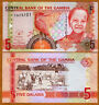 Gambia, 5 Dalasis, ND (2006), 2013 Issue, P-25-New, UNC > Child