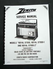 Zenith  D7000 D7000-1 D7000-2 Service Manual
