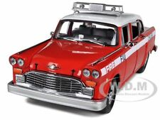 1981 CHECKER A11 CHELSEA FIRE DEPARTMENT 1/18 DIECAST MODEL CAR BY SUNSTAR 2508